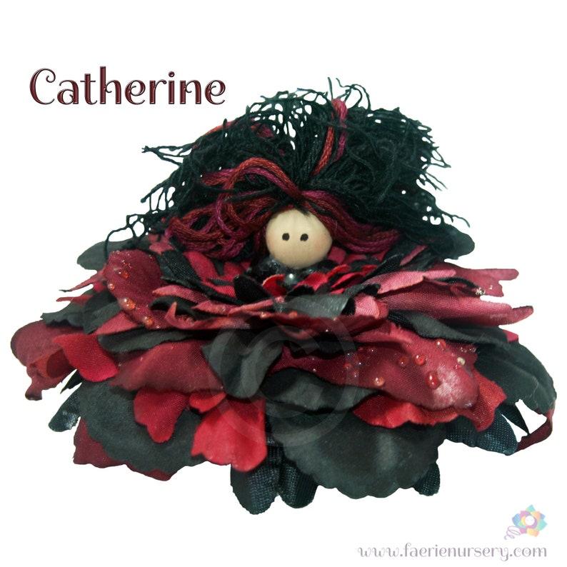 Catherine the Flower Petal Faerie Fairy OOAK image 0