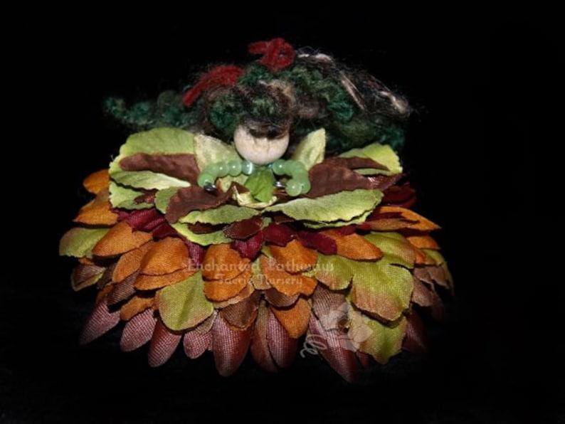 Ginger the Flower Petal Faerie Fairy OOAK image 0