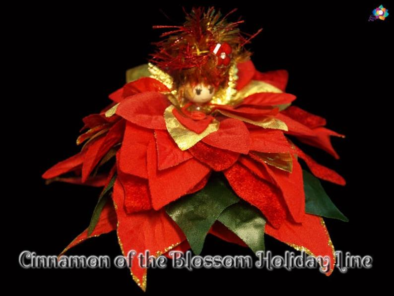 Cinnamon of the Blossom Holiday Line Fairy Faerie OOAK image 0
