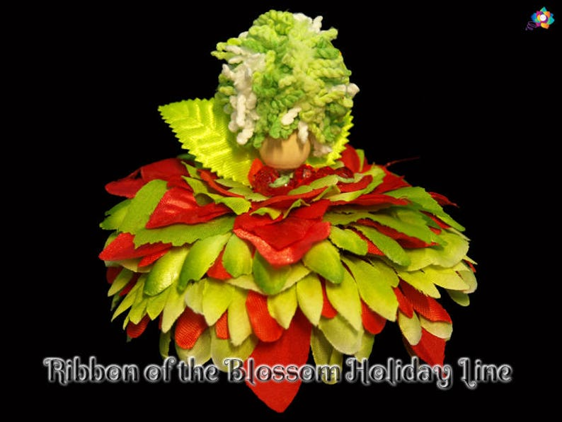 Ribbon of the Blossom Holiday Line Fairy Faerie OOAK Doll image 0