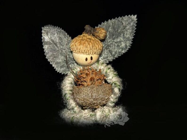 Cameron the Flower Petal Prince Fairy OOAK Acorn Elf image 0