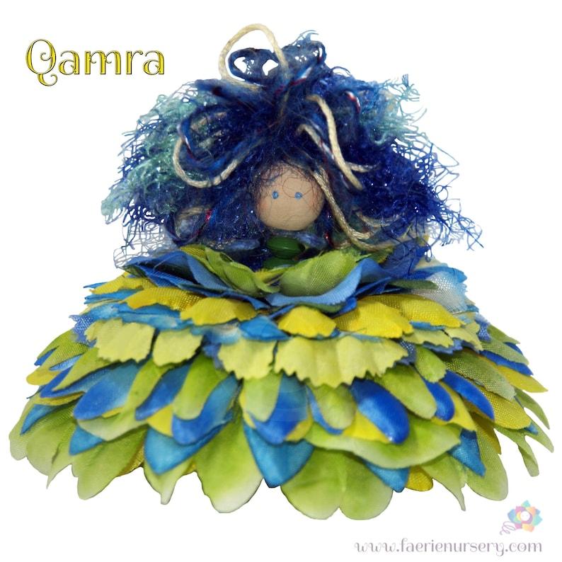 Qamra the Flower Petal Faerie Fairy OOAK image 0