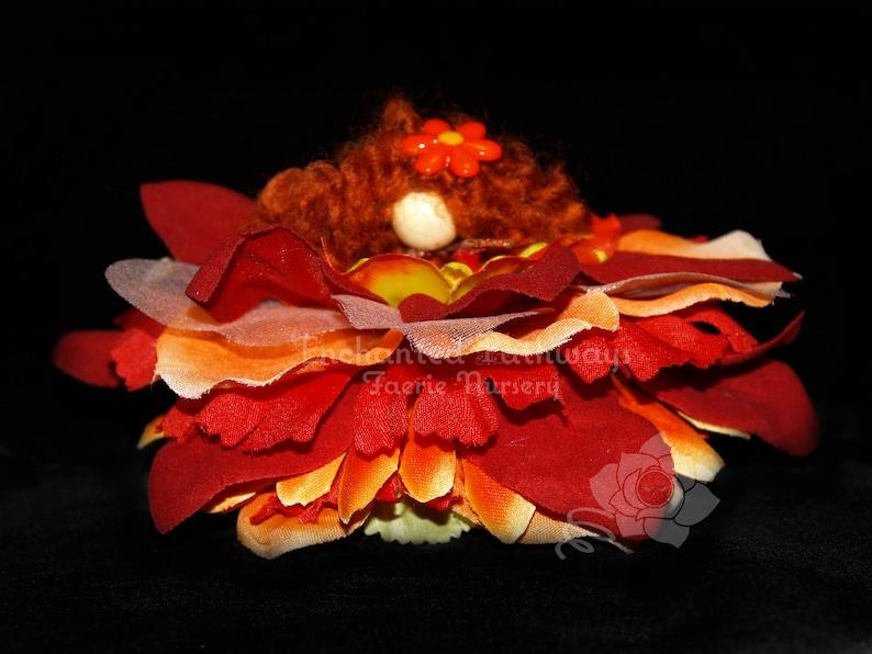 Elie the Flower Petal Faerie Fairy OOAK image 0