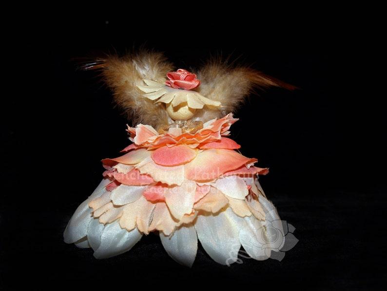 Kate the Flower Petal Faerie Fairy OOAK image 0