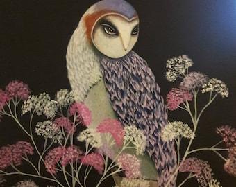 Barn Owl Original sold PRINTS ONLY