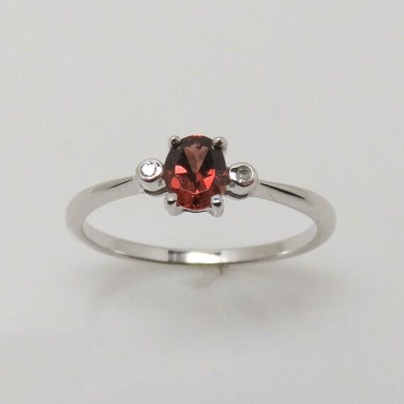 Garnet Ring, Garnet Jewelry, Garnet Jewellery, Whi
