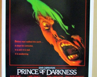 PRINCE OF DARKNESS JOHN CARPENTER MOVIE POSTER FILM A4 A3 ART PRINT CINEMA