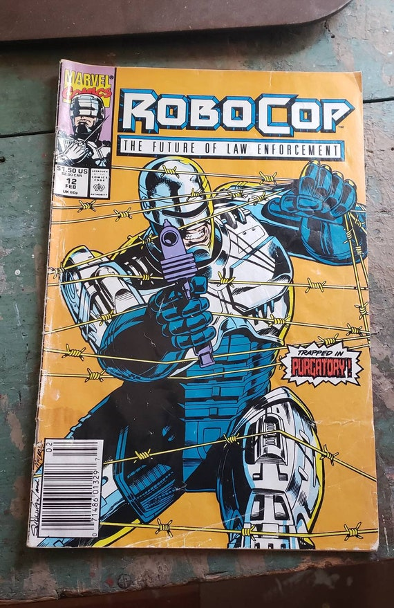 Robo Cop The Future of Law Enforcement Trapped in Purgatory Comic Book Punisher Marvel Comics