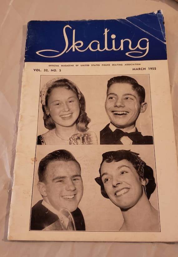 Official Magazine of the United States Figure Skating Association March 1955