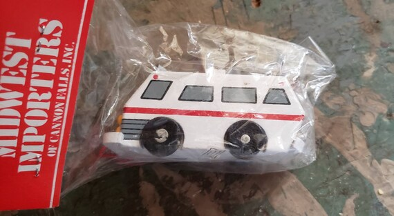 Vintage Midwest Importers Christmas Ornament Motor Home RV Original Packaging Christmas Vacation Christmas movies