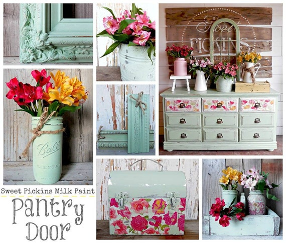 Sweet Pickins Milk Paint Color - Pantry Door - 6 oz. Makes 1 Pint
