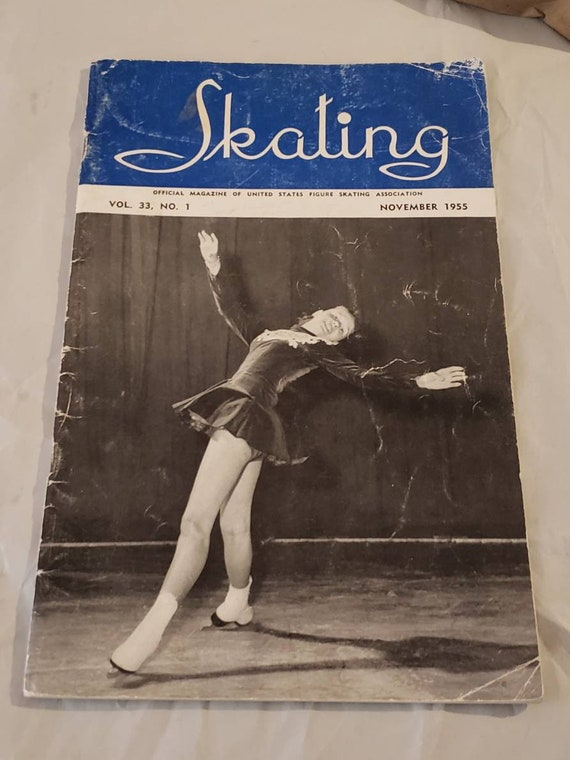 Official Magazine of the United States Figure Skating Association November 1955