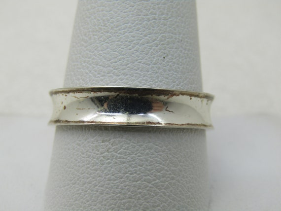 Sterling Silver Men's Wedding Band, Sz. 11.5, 5mm Wide