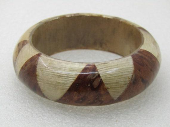 """Vintage Geometric Natural Fiber Bracelet, 8"""""""