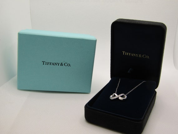 18kt Loving Hearts Diamond Paloma Picasso Tiffany's Necklace, 16""