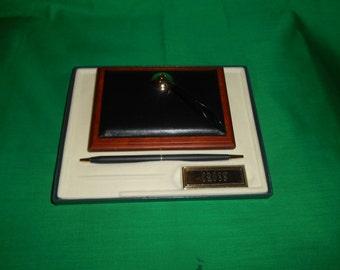 One (1), New/Old Stock, Cross Pen Desk Pen, in Original Box.