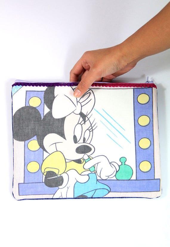 Minnie Mouse sac à main / accessoires sac bag Large zip