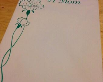 Vintage #1 Mom Notepad