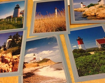 Lighthouse Blank Cards - Set of 7