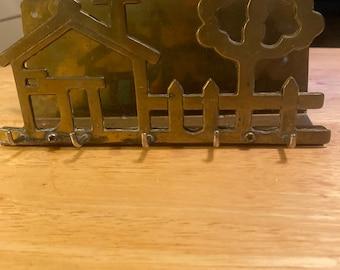 Brass Key Rack