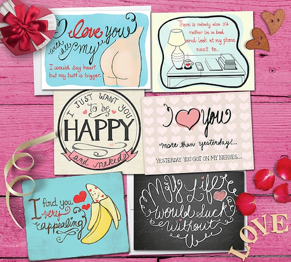 Valentines day greeting card choose 1 and print yourself folds il570xn m4hsunfo