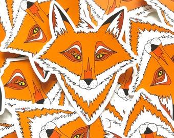 Fox Vinyl Stickers