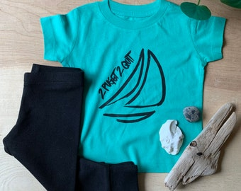2 Puget 2 Quit, KIDS Unisex Clothing Set, Fair Trade, Organic Cotton