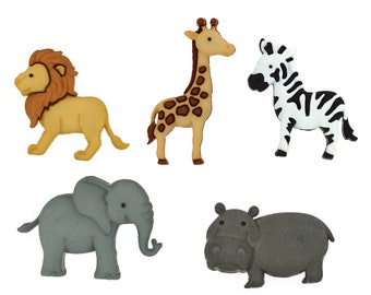 Life/'s A Zoo Hippo ~ Monkey ~ Giraffi ~ Zebra Dress It Up Jesse James