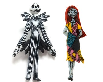 Nightmare Before Christmas ~  Disney License Buttons ~ Jesse James Dress It Up