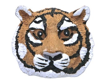 Save the Tiger 1 inch ( 26 mm ) Plastic Novelty Sewing Button