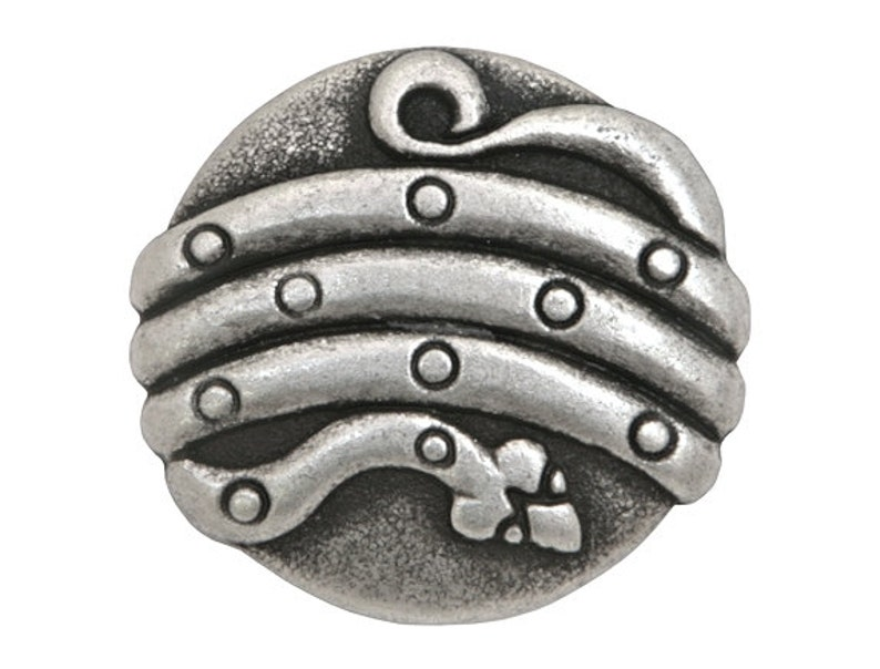 25 pcs Metal Buttons Snake 78 inch Metal Serpent Buttons Silver Color 23 mm