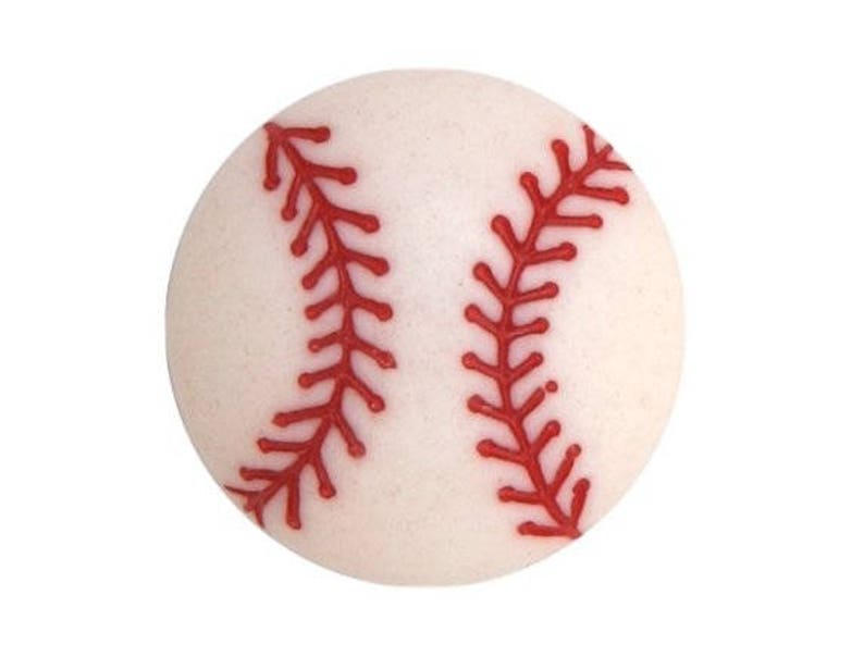 SPORTS BASEBALLS 1370 ~ Sewing ~ Crafts Dress It Up Jesse James Buttons
