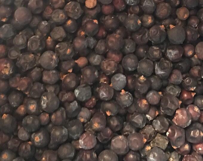 Juniper Berries, Blue, Juniperus communis,  1 oz.