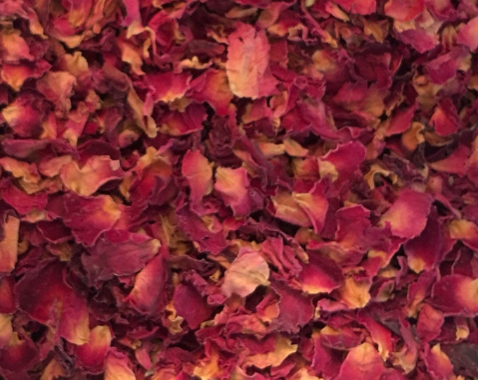 Rose, Red Petals, Rosa centifolia,  1 oz.