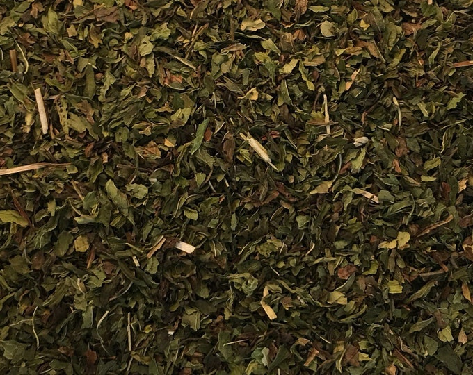 Spearmint Leaves, Mentha spicata,  1 oz.