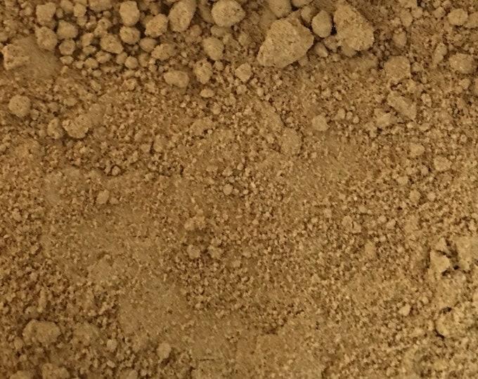 Ginger Root Powder, Zingiber officinale,  1 oz.