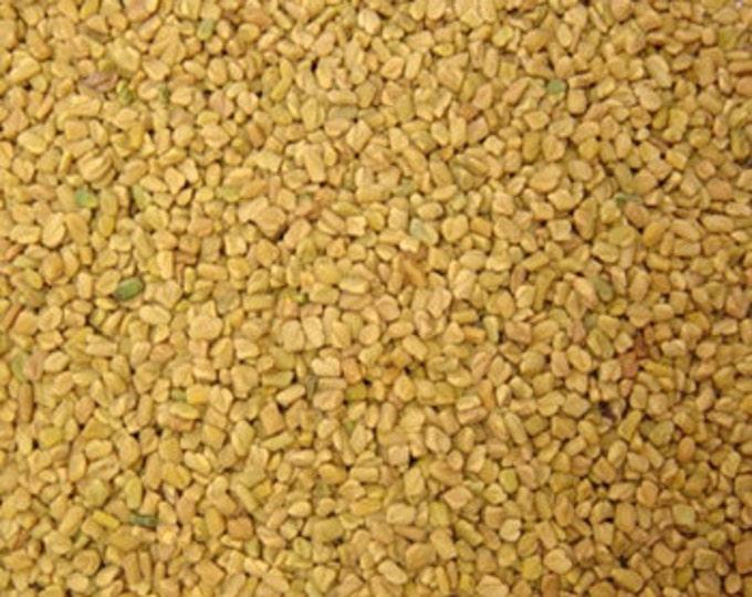 Fenugreek Seeds, Trigonella foenum-graecum,  1 oz.
