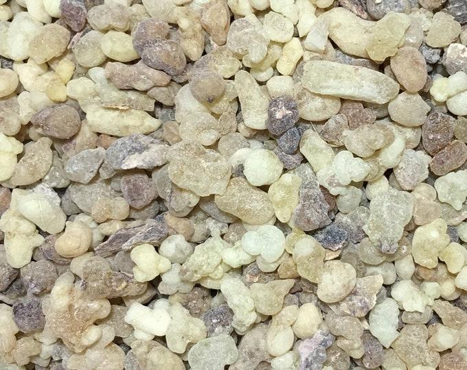 Frankincense Tears Resin, Boswellia sacra, syn. Boswellia carteri,  1 oz.