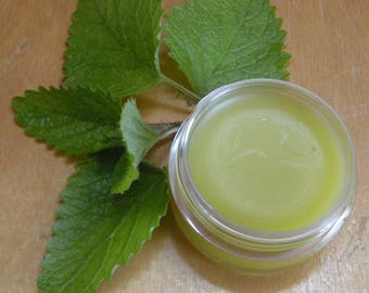 Lemon Balm Salve for Cold Sores, Blisters, Blemishes, and Bug Bites