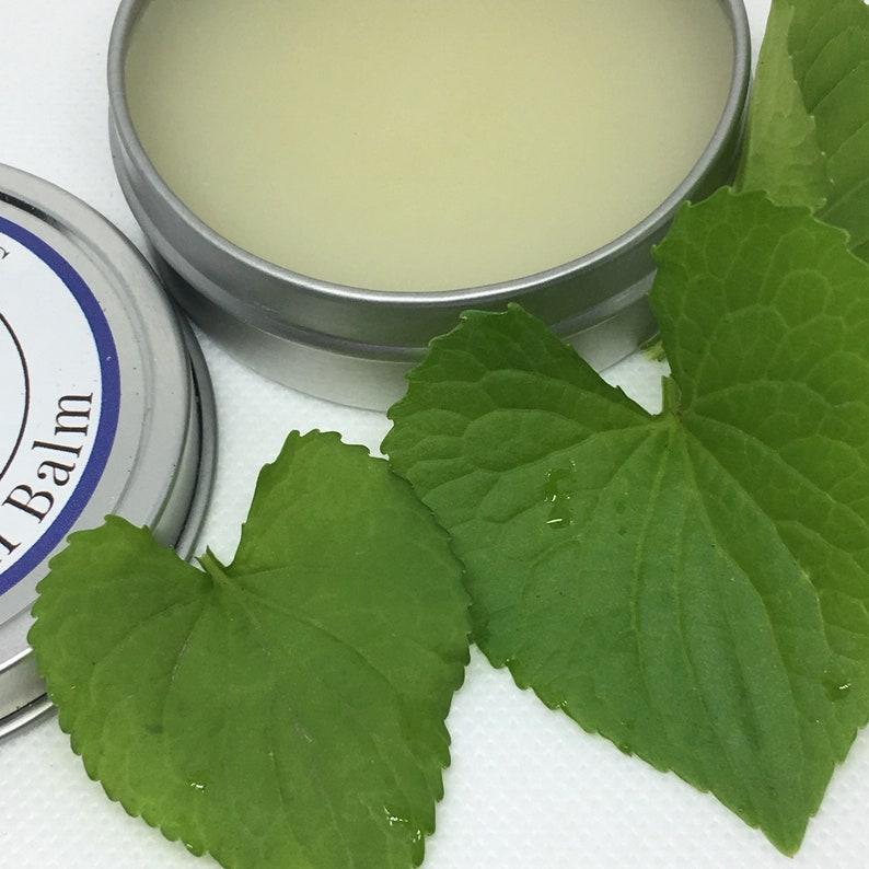 Violet Leaf Balm for Breasts With Evening Primrose Oil. 2 oz. image 0