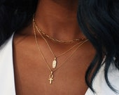 THE EGYPTIAN Essentials Necklace Stack