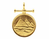 THE PYRAMID Pendant with Bar