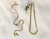 House of Harlow 1960 Creator Collaboration - Horn Bolero and Braid Necklace Stack