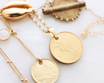 THE EGYPTIAN Coin Necklace