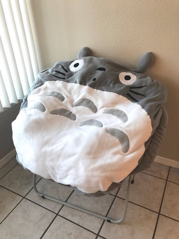 Groovy Totoro Beanbag Pillow Case For Round Lounge Chair Evergreenethics Interior Chair Design Evergreenethicsorg