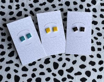 Zia Earrings/Turquoise Zia/Blue Zia/Teal Zia/New Mexico/New Mexico Souvenir/Albuquerque/Southwest Jewelry/Southwest Keepsake/