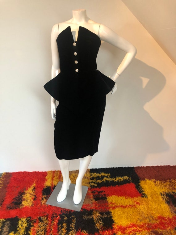 SALE Halloween skirt black and purple rara skirt  witch goth  80s skirt last one