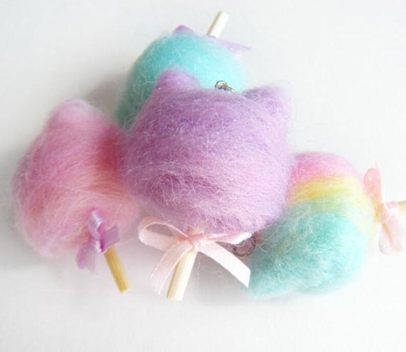 0f143af74d Kawaii Cotton KittyPastel Kitty Spun Sugar Carnival Cotton