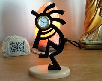 Kokopelli Mine clock