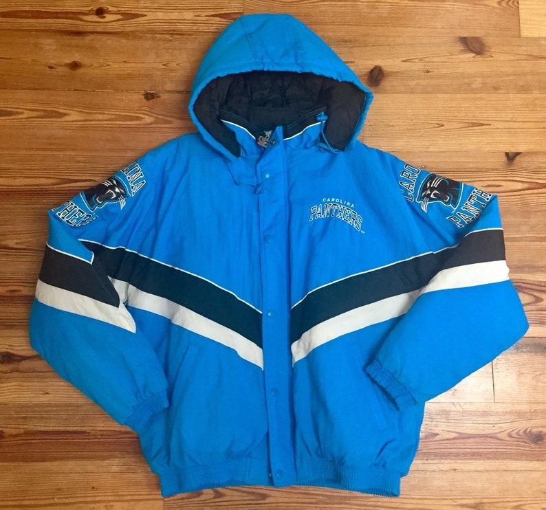 f911782af Vintage Carolina Panthers Starter Jacket Authentic Pro Line